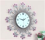 Đồng hồ treo tường bằng hoa pha lê cho không gian sang trọng JT1410