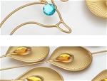Đồng hồ treo tường công vàng may mắn 1m vô cùng sang trọng độ bền trên 20 năm BS8888-100