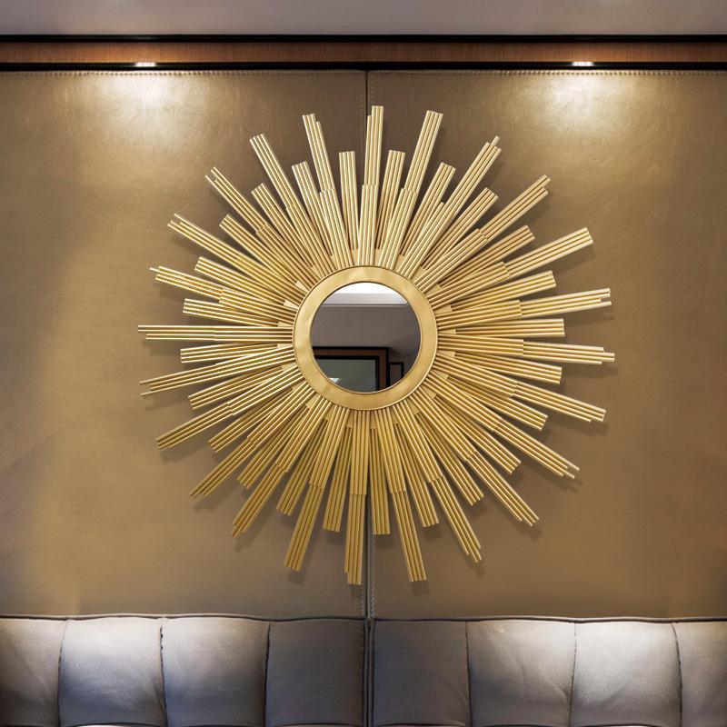Gương trang trí thiết kế hiện đại ấn tượng cho không gian thêm sang trọng FAN-2120 khổ 100cm