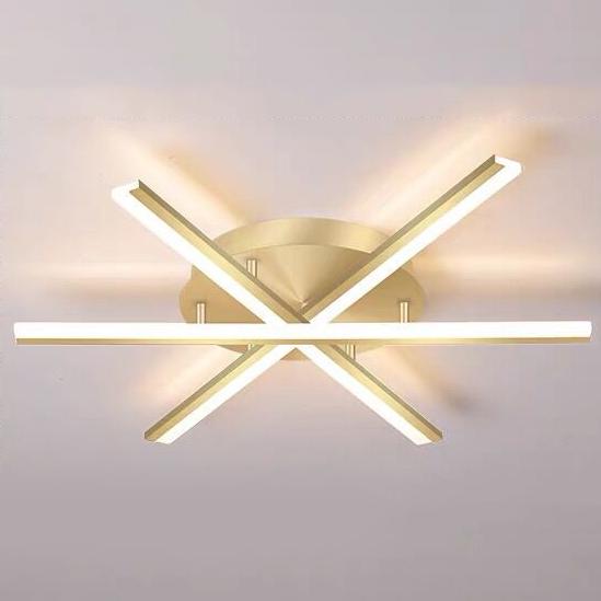 Đèn trần thiết kế độc đáo lạ mắt cho không gian thêm ấn tượng XH-GT002 loại 3 đầu
