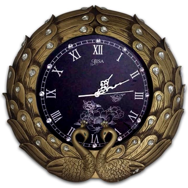 Đồng hồ kiểu dáng Châu Âu cho không gian thêm sang trọng ấn tượng BS865T