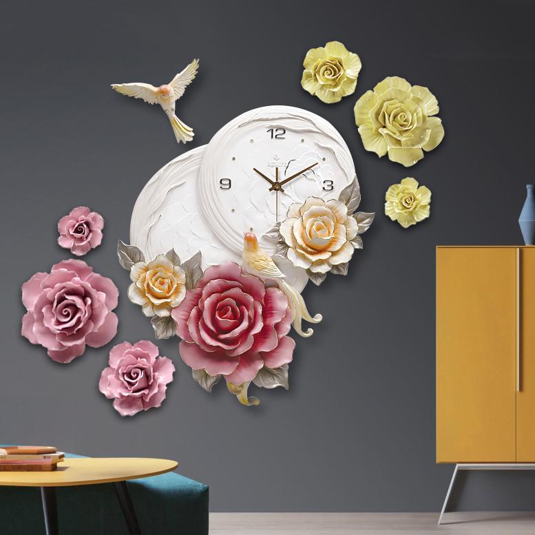 Đồng hồ kiểu dáng Châu Âu cho không gian thêm sang trọng ấn tượng ZB0011A_HA