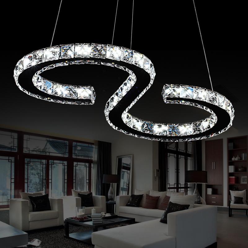 Đèn trang trí pha lê cao cấp nổi bật không gian nội thất DL4021