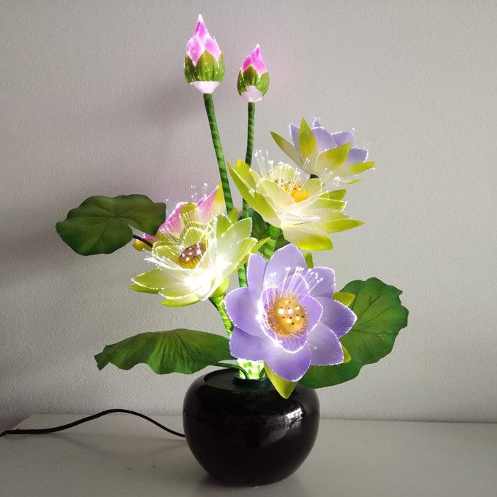 Bình hoa đèn LED độc đáo, tô điểm hoàn hảo cho không gian thêm ấn tượng HH-XQ-7