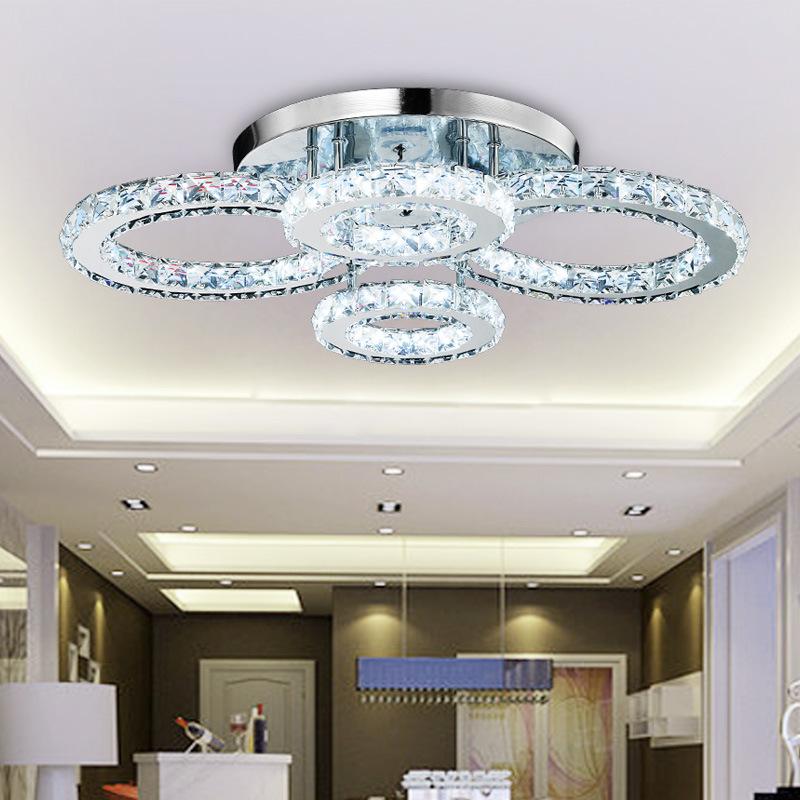 Đèn trang trí pha lê cao cấp nổi bật không gian nội thất 8504
