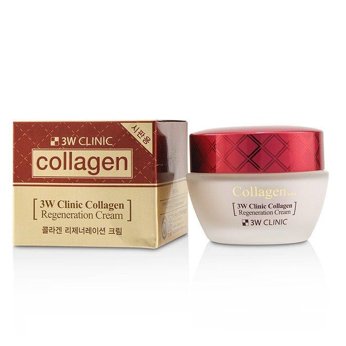 Kem dưỡng chống lão hóa da 3W Clinic Collagen Regeneration Cream (60ml)