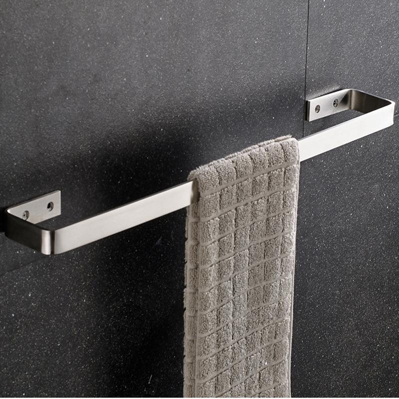 Giá treo khăn inox304 cao cấp vô cùng tiện lợi cho phòng tắm 8124