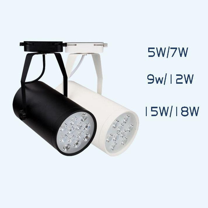 Đèn rọi ray với thiết kế ray trượt linh động có khả năng chiếu sáng đa dạng BNM