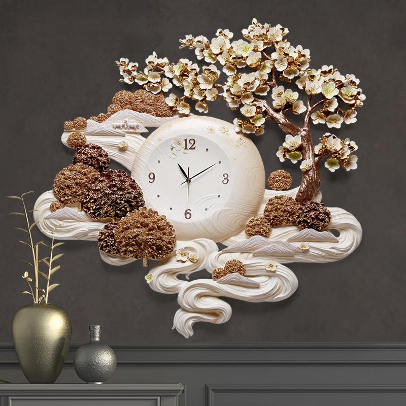 Đồng hồ thiết kế nghệ thuật cho không gian thêm ấn tượng ZB0034