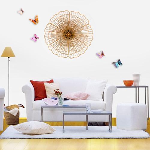 Decor trang trí 3D cách điêu tuyệt đẹp cho không gian thêm sống động đầy ấn tượng SM3396 size 45cm
