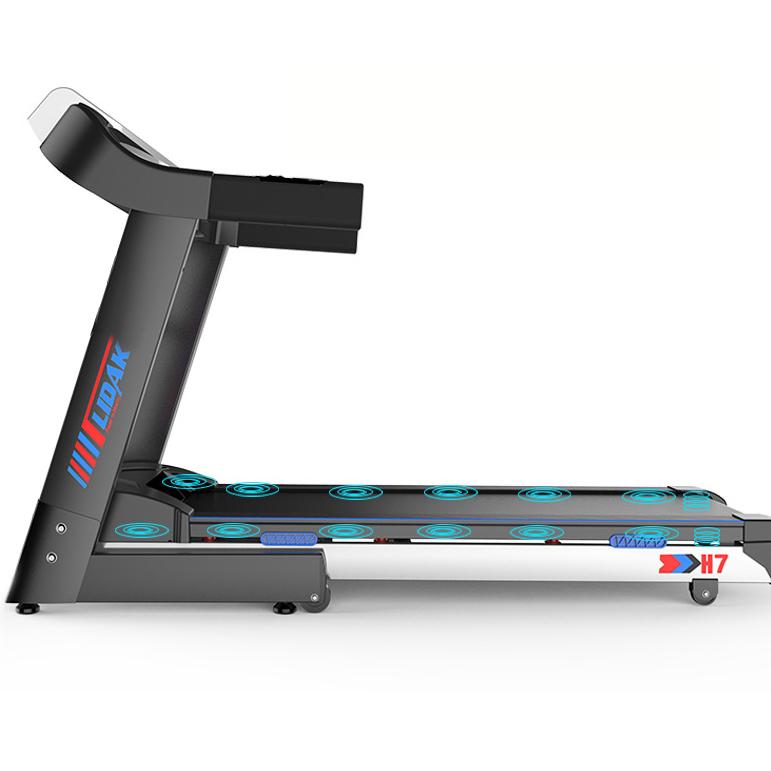 Máy chạy bộ tại nhà đơn chức năng màn hình màu 7 inch có thể gấp gọn vô cùng tiện lợi H7C