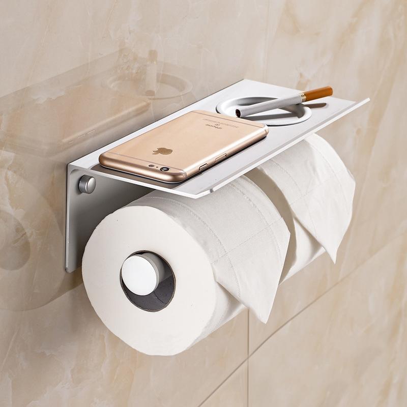 Hộp đựng giấy vệ sinh inox 2 ngăn tiện dụng & hiện đại 5826