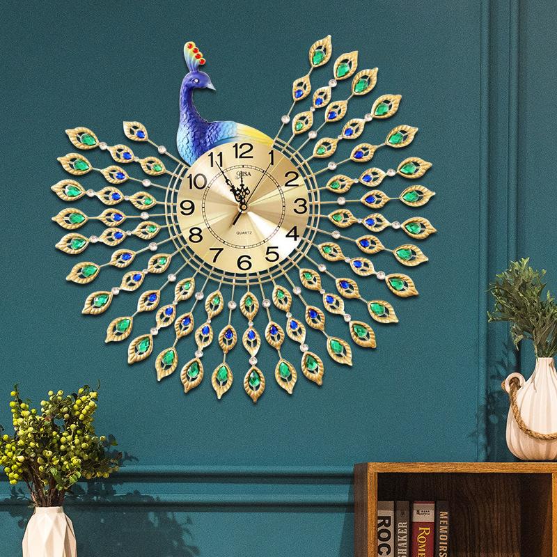 Đồng hồ treo tường thiết kế công đậm chất hoàng gia, thương hiệu bisa độ bền trên 20 năm BS829_100