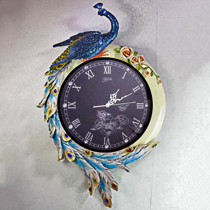 Đồng hồ treo tường phong cách Châu Âu sang trọng đẳng cấp BS8006T_BU