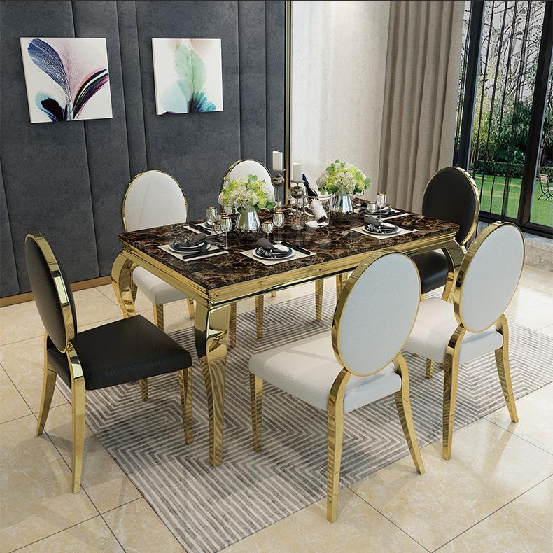 Bộ bàn ghế phòng ăn sang trọng và hiện đại cho ngôi nhà thêm ấn tượng