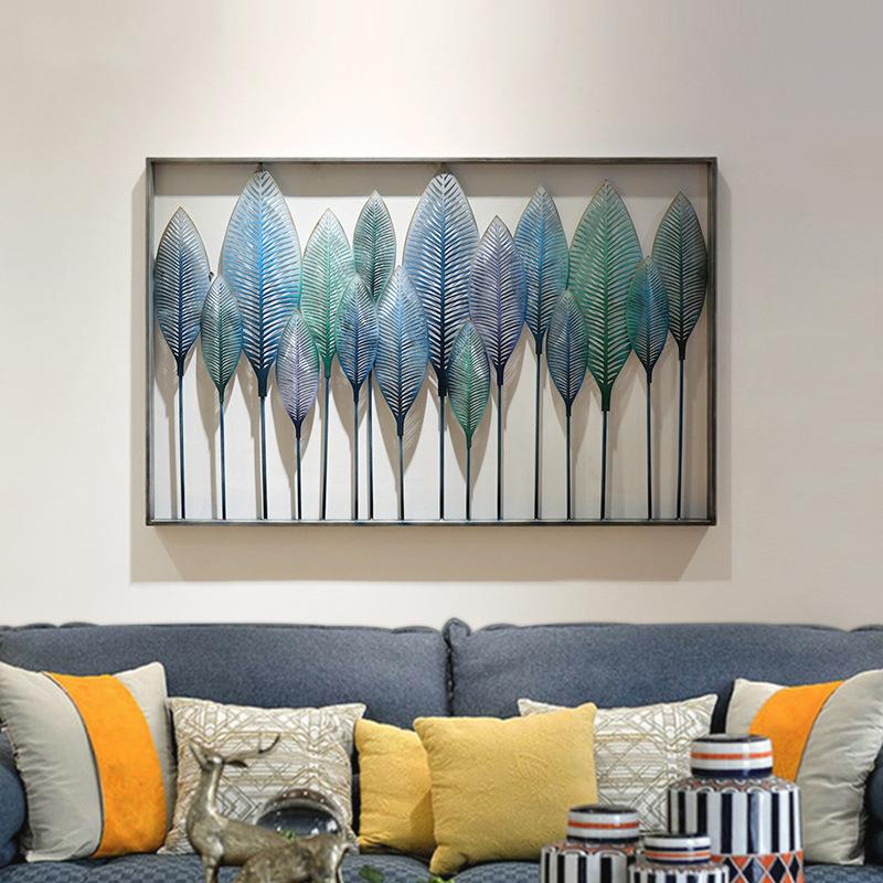 Decor trang trí hàng cây xanh cách điệu nghệ thuật tuyệt đẹp cho không gian thêm ấn tượng SM3393