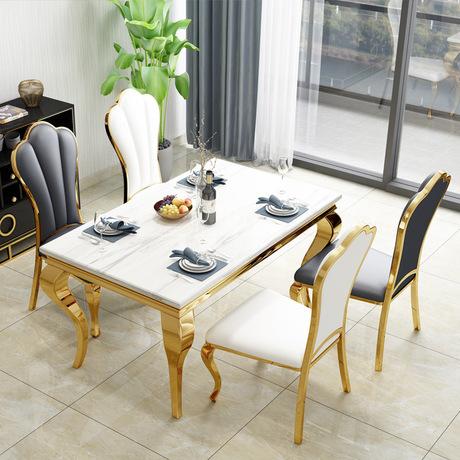 Bàn phòng ăn sang trọng và hiện đại cho ngôi nhà thêm ấn tượng