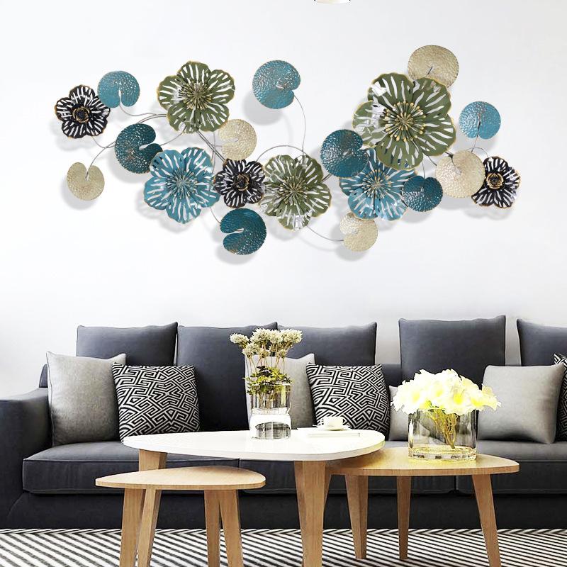 Bô trang trí hoa lá 3D cho không gian thêm sống động đầy ấn tượng 15171
