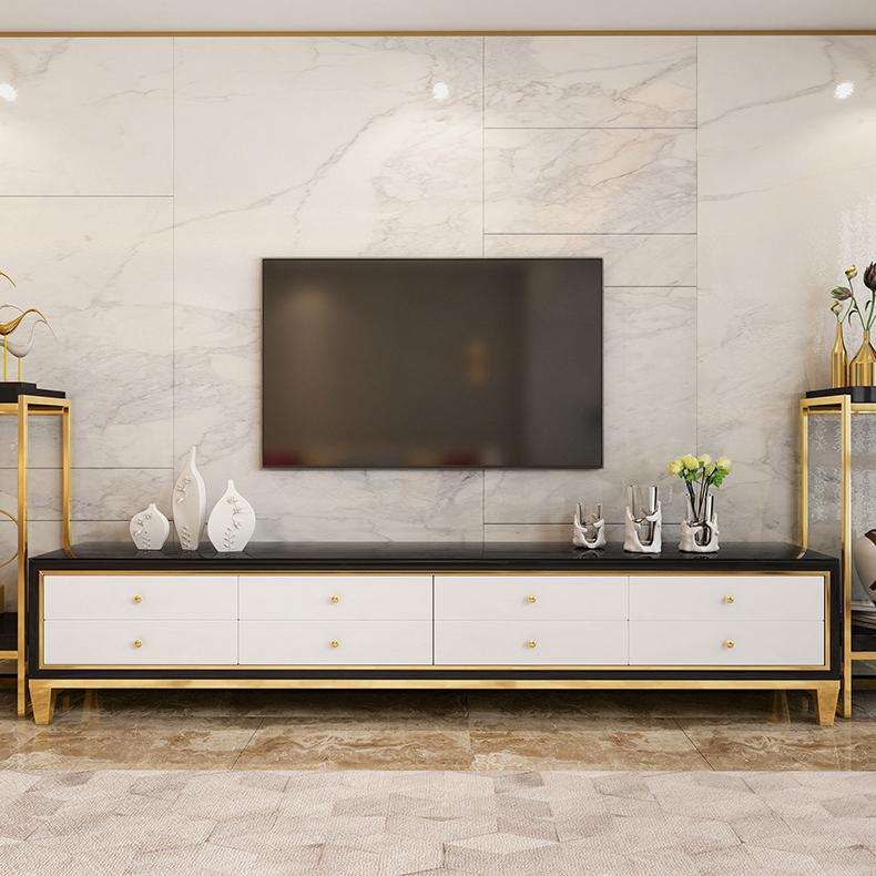 Tủ Tivi 8 ngăn kéo hiện đại và sang trọng cho ngôi nhà kiểu mới