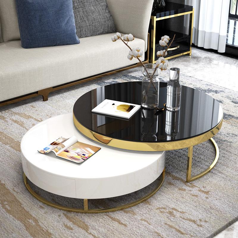 Bàn phòng khách thiết kế sang trọng hiện đại đầy tính sáng tạo cho căn hộ nhỏ