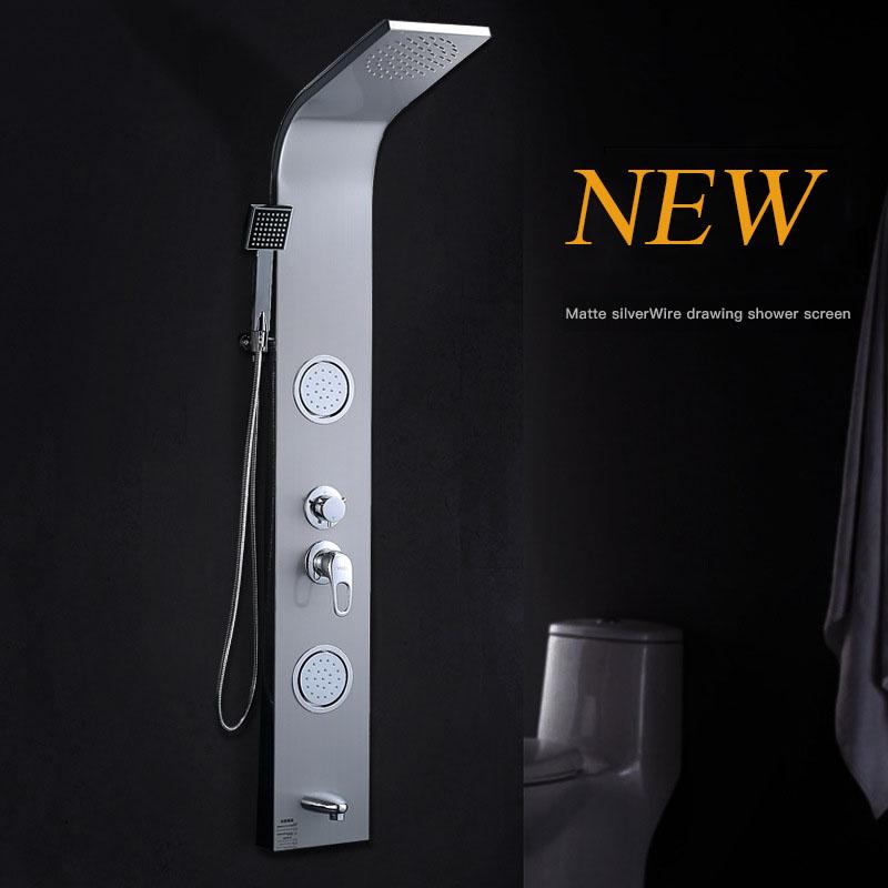 Vòi sen tắm điều khiển nhiệt độ thông minh vô cùng tiện nghi cho phòng tắm hiện đại YF-5105