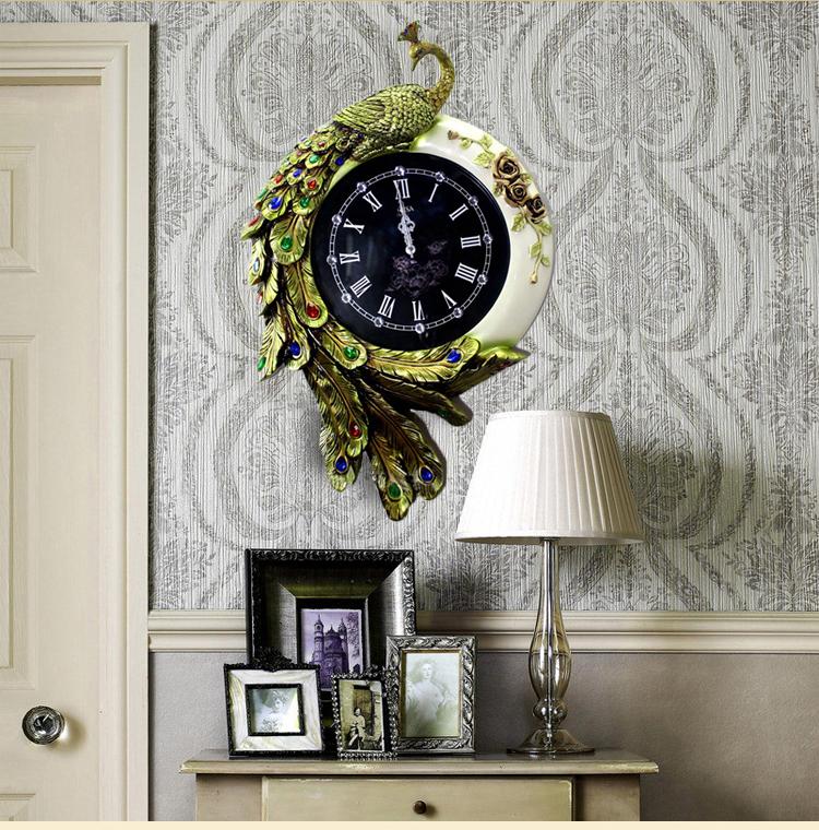 Đồng hồ treo tường phong cách Châu Âu sang trọng đẳng cấp BS6956T