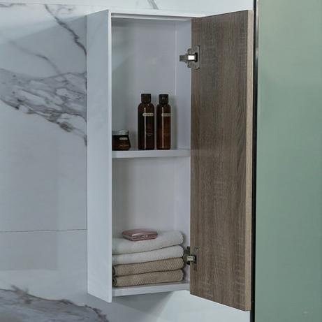 Tủ phụ phòng tắm phong cách Bắc Âu cho không gian hiện đại đẳng cấp YF1115 size 75cm