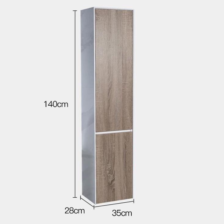 Tủ phụ phòng tắm phong cách Bắc Âu cho không gian hiện đại đẳng cấp YF1115 size 140cm