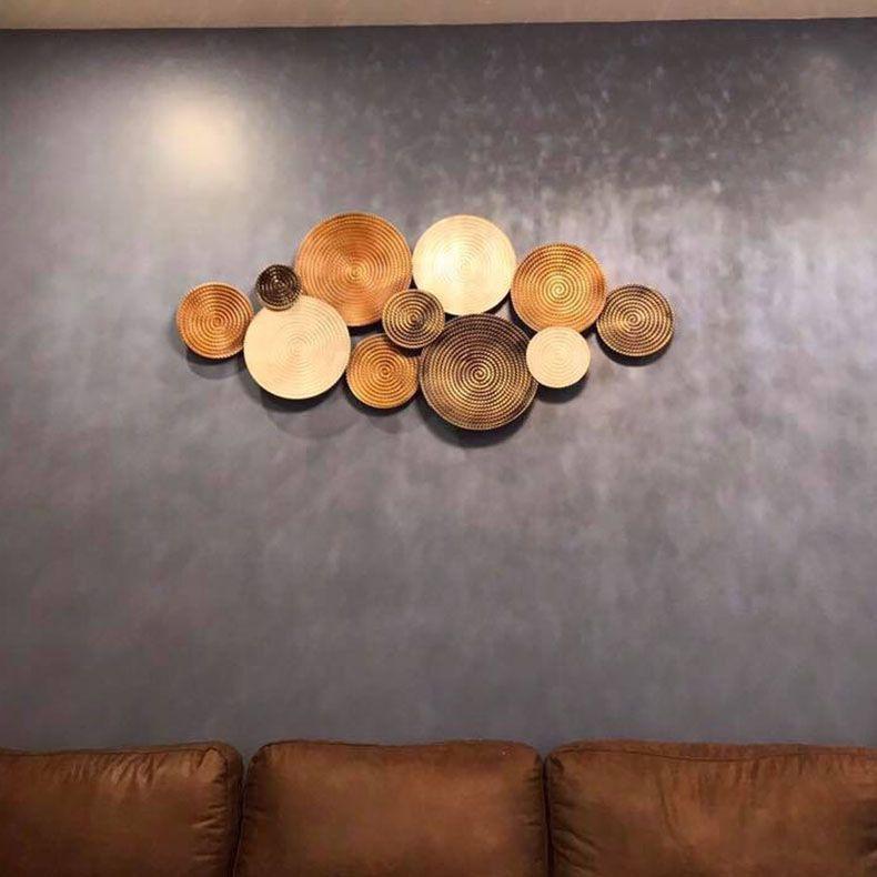 Hoa decor sắt trang trí 3D cho không gian thêm ấn tượng 397