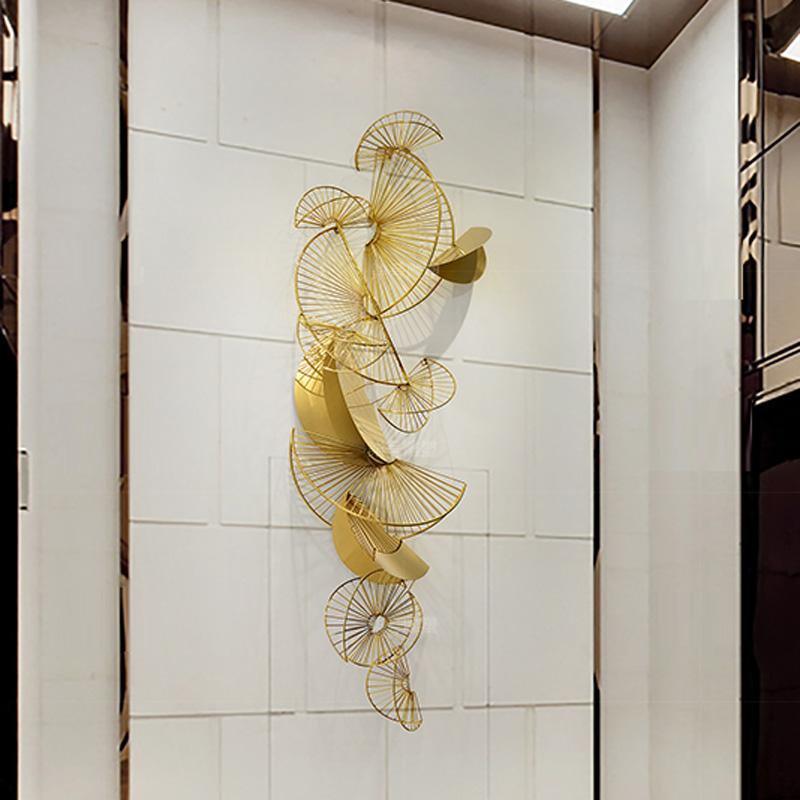 Bộ decor trang trí 3D cách điêu tuyệt đẹp cho không gian thêm sống động đầy ấn tượng FAN-2129 khổ 2m