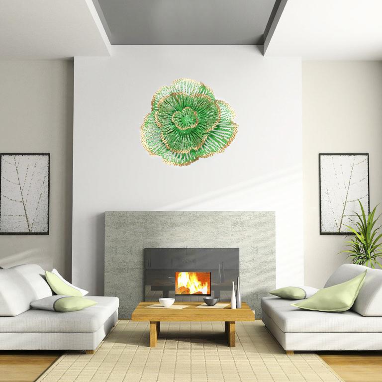 Hoa trang trí 3D cho không gian thêm sống động đầy ấn tượng SM2290