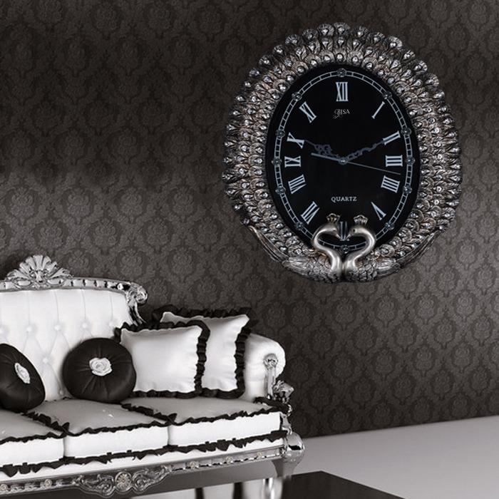 Đồng hồ treo tường phong cách châu âu sang trọng có một không hai BS1016