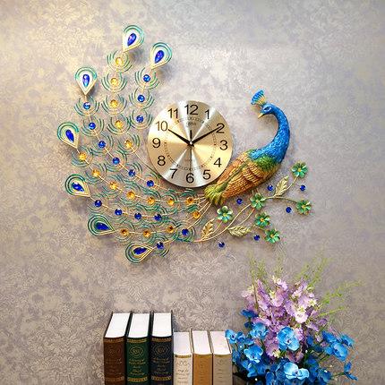 Đồng hồ treo tường thiết kế công đậm chất hoàng gia, thương hiệu bisa độ bền trên 20 năm BS866_70