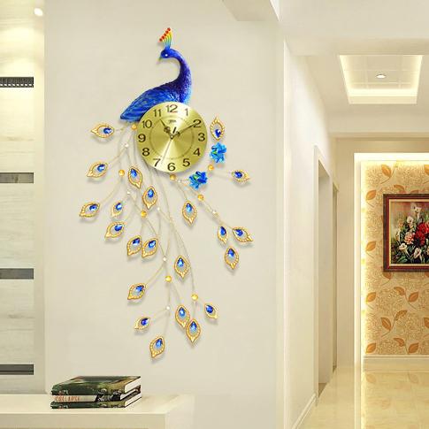 Đồng hồ treo tường thiết kế công đậm chất hoàng gia, thương hiệu bisa độ bền trên 20 năm BS1769MV