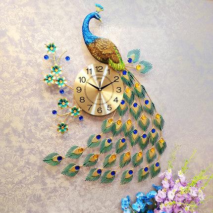 Đồng hồ treo tường thiết kế công đậm chất hoàng gia, thương hiệu bisa độ bền trên 20 năm BS916-98