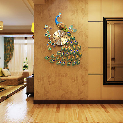 Đồng hồ treo tường thiết kế công đậm chất hoàng gia, thương hiệu bisa độ bền trên 20 năm BS916-88