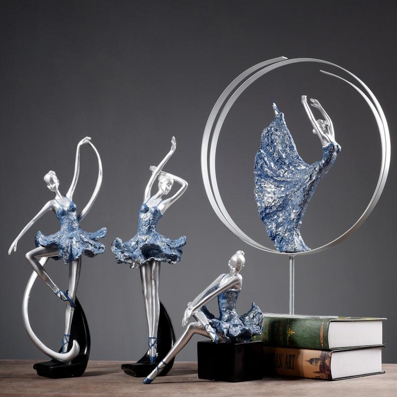 Decor cô gái múa bale thiết kế hiện đại, độc đáo đầy ấn tượng ZS9665