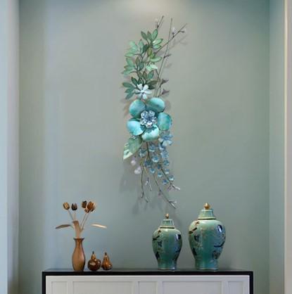 Hoa lá trang trí 3D cho không gian thêm sống động đầy ấn tượng 5220