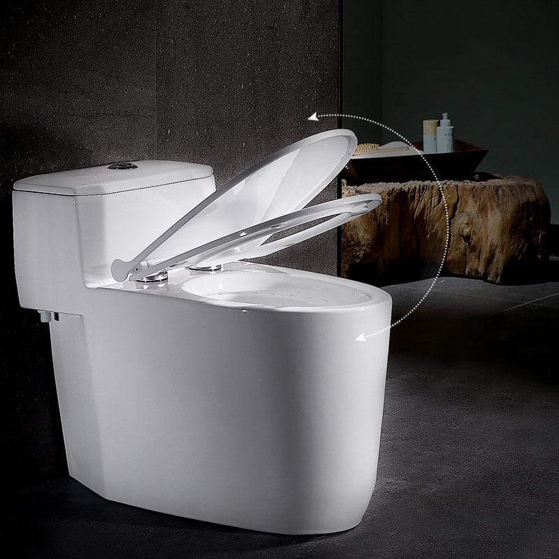 Bồn cầu vệ sinh thông minh đặc biệt khử mùi cho môi trường vệ sinh luôn tươi mới và trong lành YF2240 khoảng cách hố 40cm nhựa Urê - formaldehyd