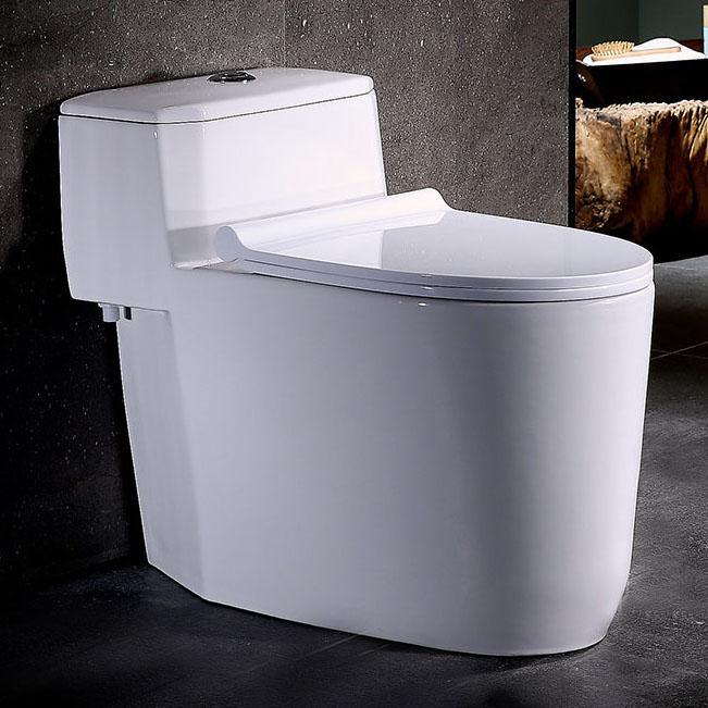 Bồn cầu vệ sinh thông minh đặc biệt khử mùi cho môi trường vệ sinh luôn tươi mới và trong lành YF2240 khoảng cách hố 40cm nhựa PP