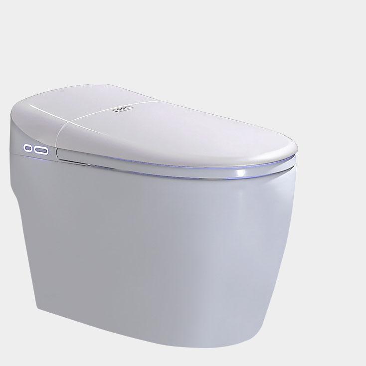 Bồn cầu vệ sinh thông minh YF2112 khoảng cách hố 30cm màu trắng