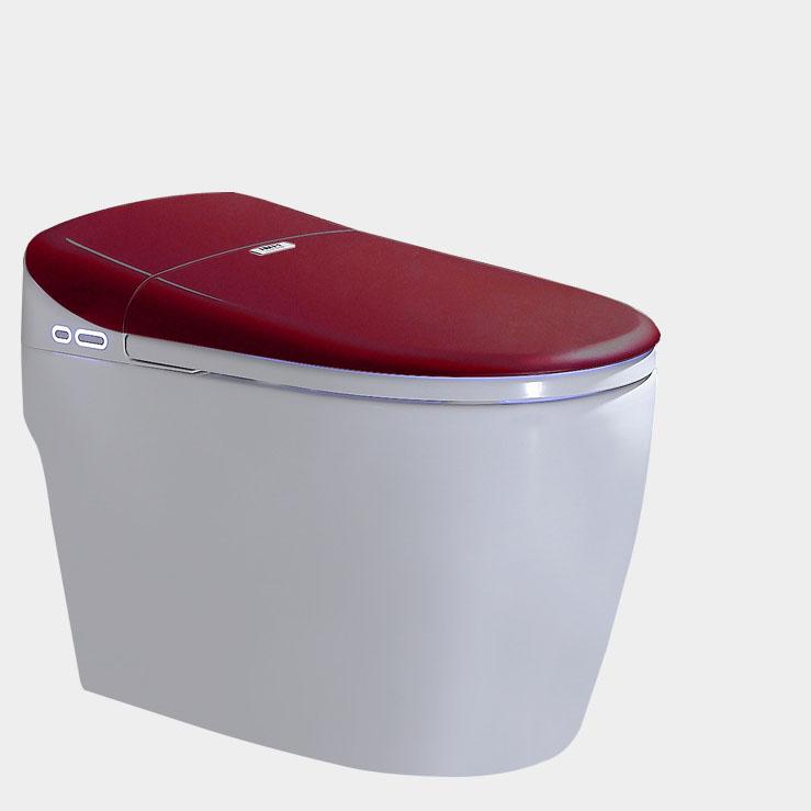 Bồn cầu vệ sinh thông minh YF2112 khoảng cách hố 30cm màu đỏ