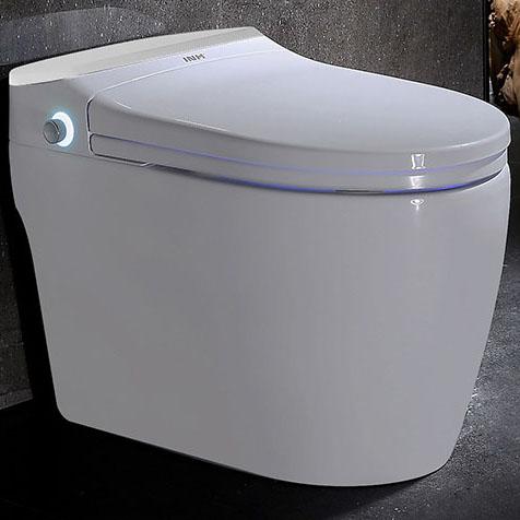 Bồn cầu vệ sinh thông minh nút xoáy cảm ứng YF2114A khoảng cách hố 40cm màu trắng