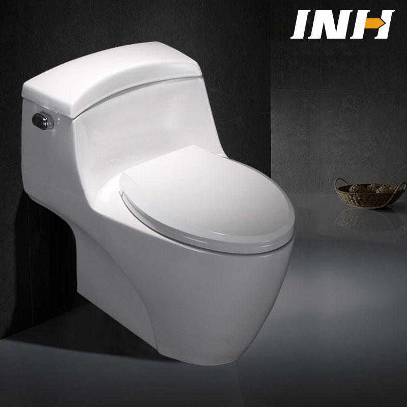 Bồn cầu vệ sinh thông minh tiết kiệm nước thiết kế lạ mắt độc đáo YF2201 khoảng cách hố 30cm PP