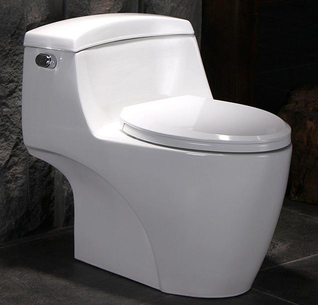 Bồn cầu vệ sinh thông minh tiết kiệm nước thiết kế lạ mắt độc đáo YF2201 khoảng cách hố 40cm PP