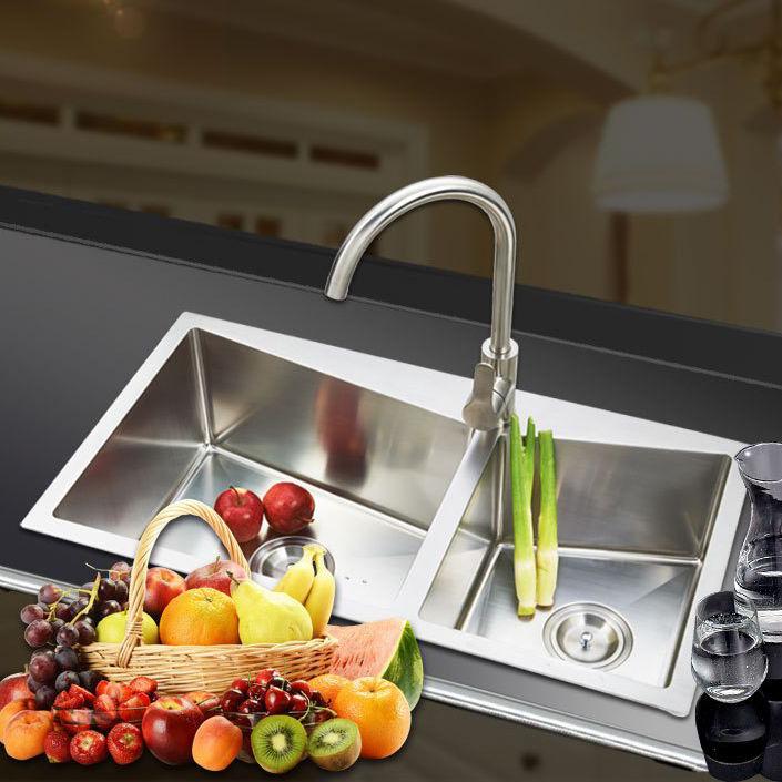 Chậu rửa bát thông minh cho không gian bếp hiện đại 8045U