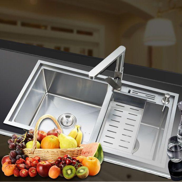 Chậu rửa bát thông minh cho không gian bếp hiện đại 8148MT
