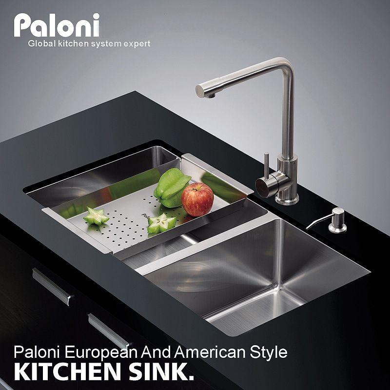 Chậu rửa bát thông minh thiết kế hiện đại đầy ấn tượng PL_7843CC