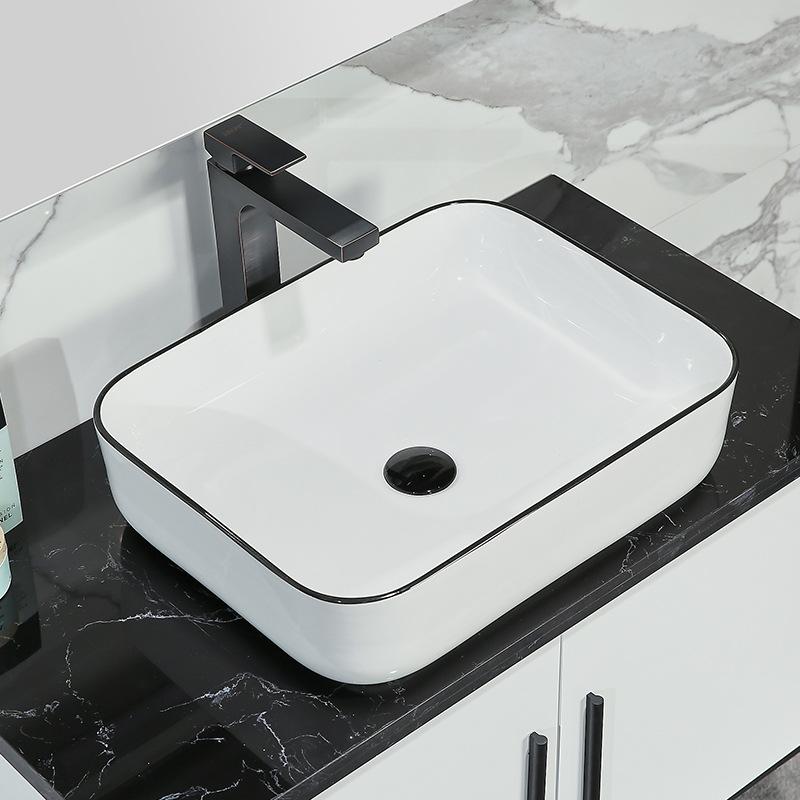 Chậu rửa lavabo thiết kế hiện đại ấn tượng 2006C