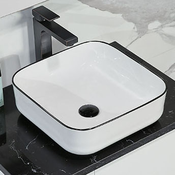Chậu rửa lavabo thiết kế hiện đại ấn tượng 2006B